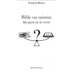 Livre : La Bible et la science