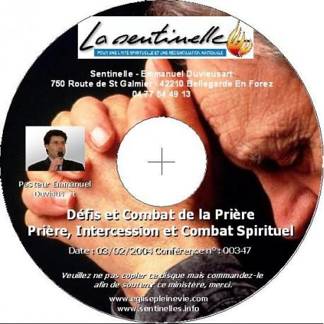 Défis et Combat de la Prière